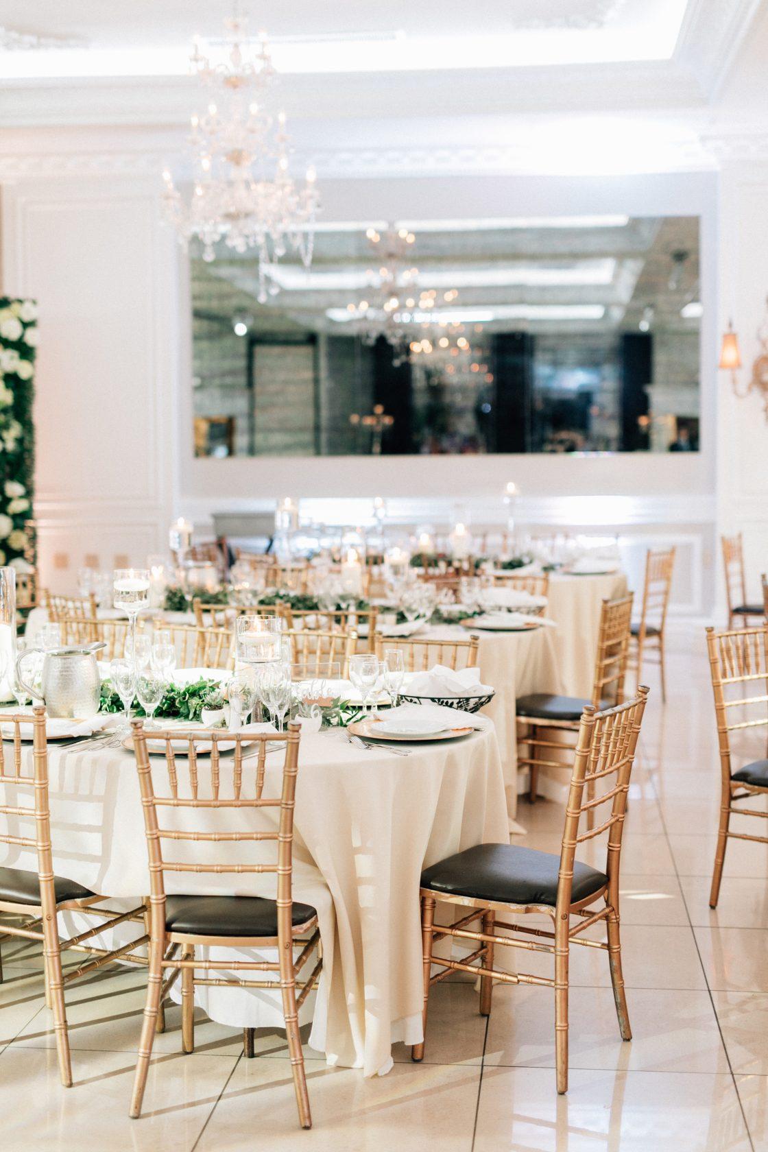 Elegant New Jersey Wedding with Greenery 45