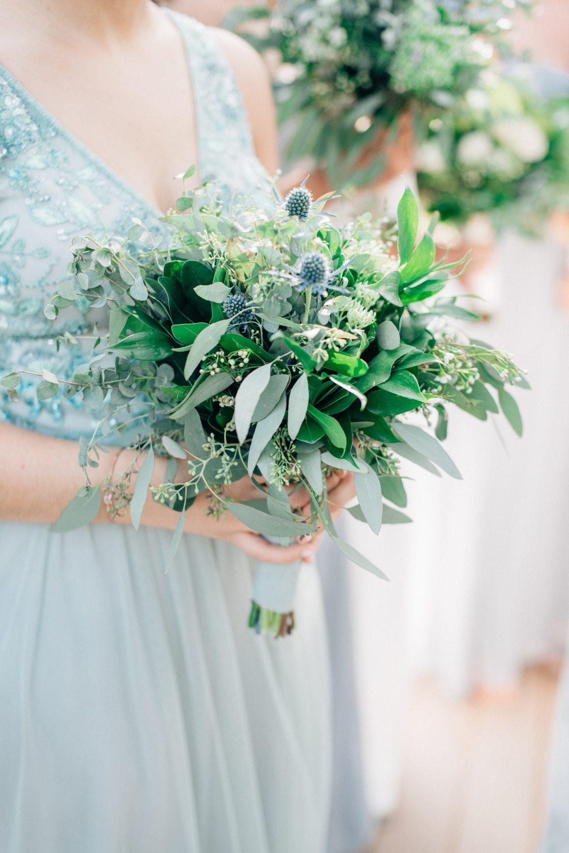 Elegant New Jersey Wedding with Greenery 5