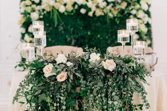Elegant New Jersey Wedding with Greenery 51