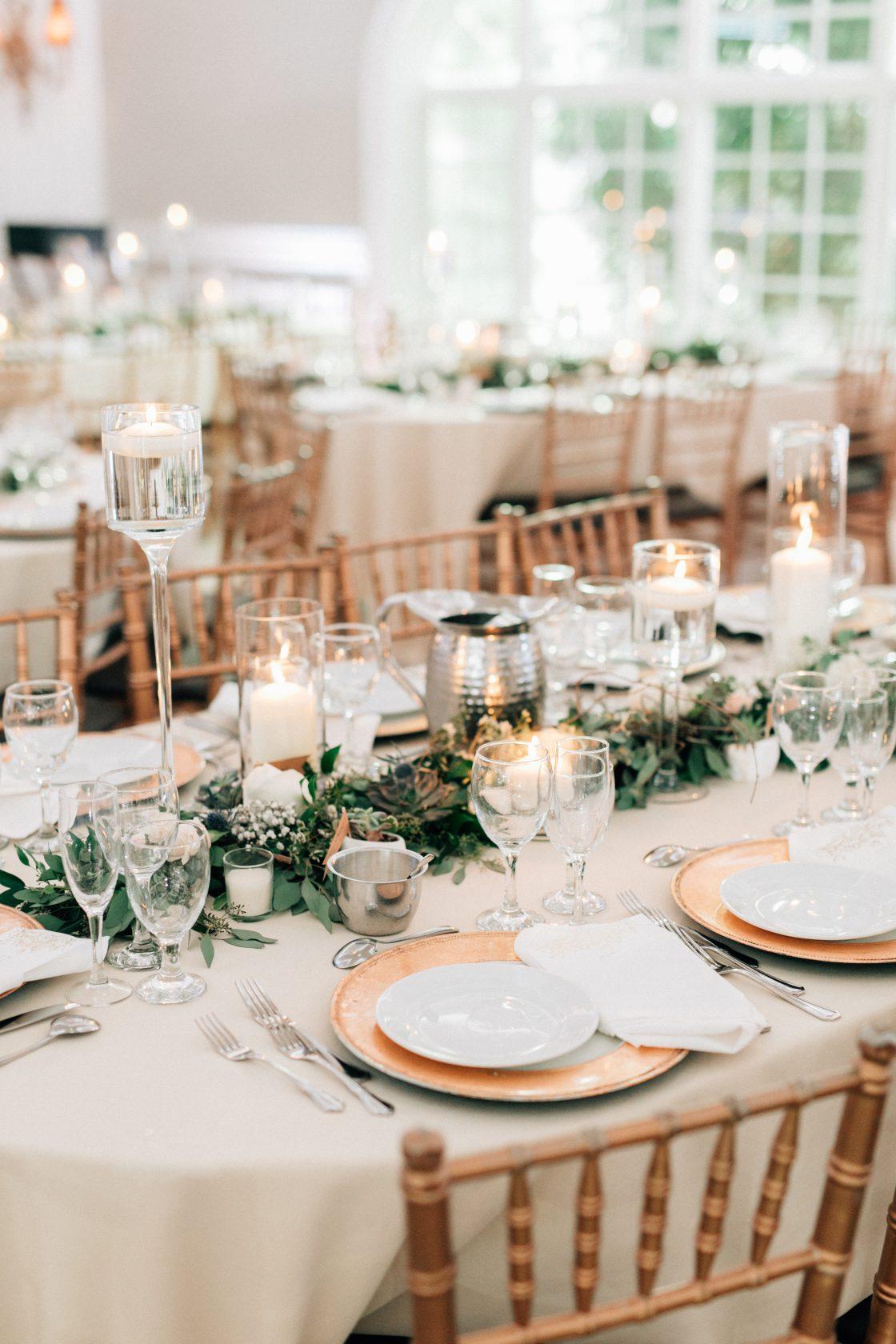 Elegant New Jersey Wedding with Greenery 56