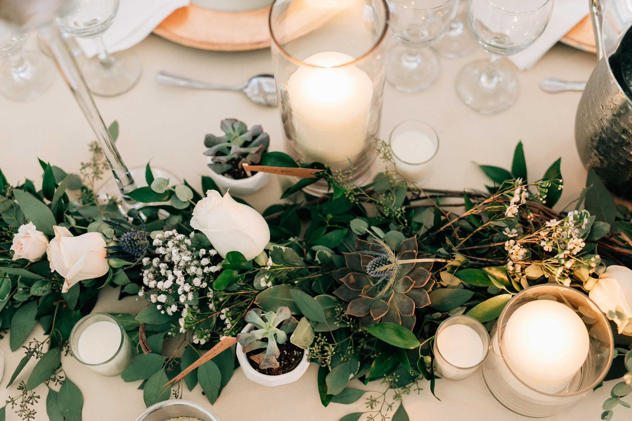 Elegant New Jersey Wedding with Greenery 57