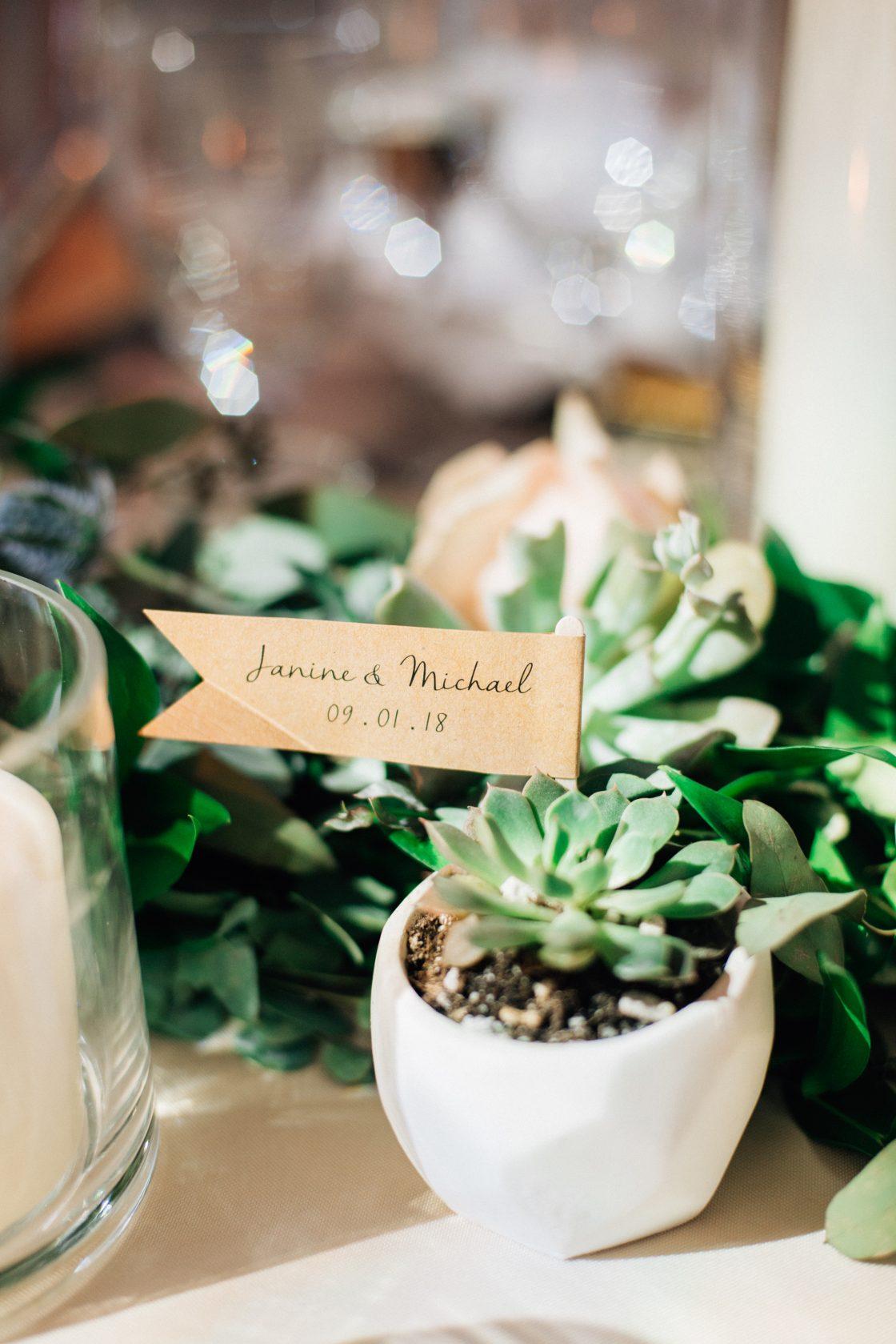 Elegant New Jersey Wedding with Greenery 59
