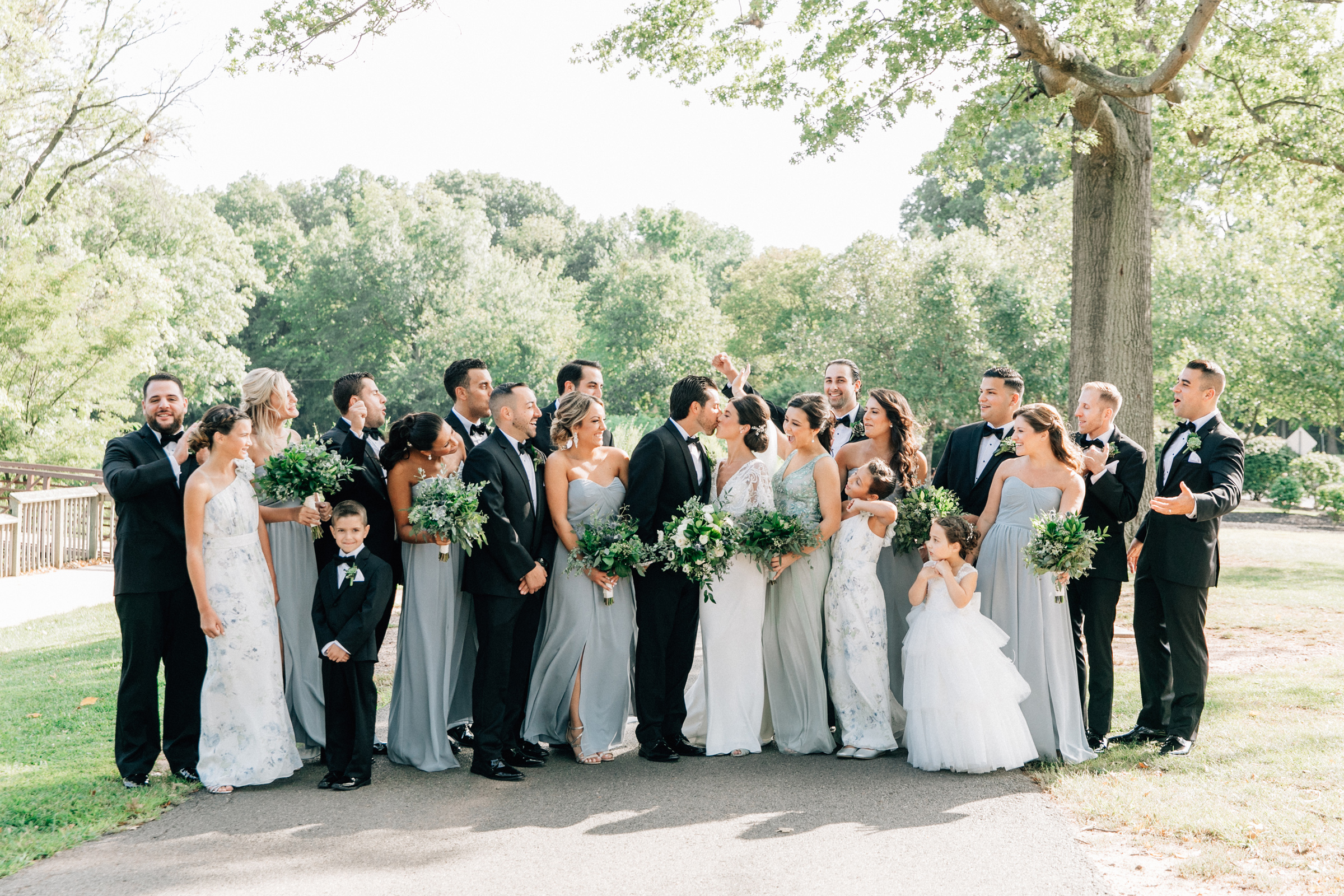 Elegant New Jersey Wedding with Greenery 6