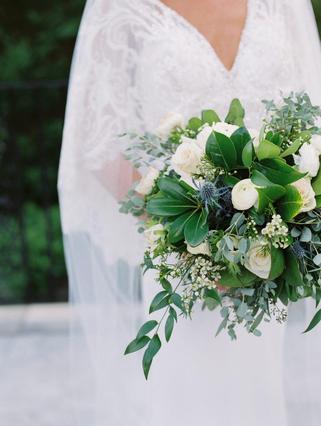 Elegant New Jersey Wedding with Greenery 61
