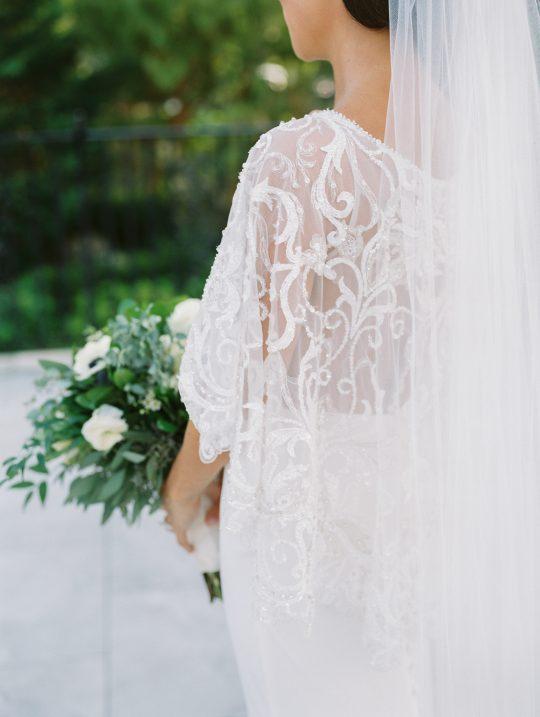 Elegant New Jersey Wedding with Greenery 62