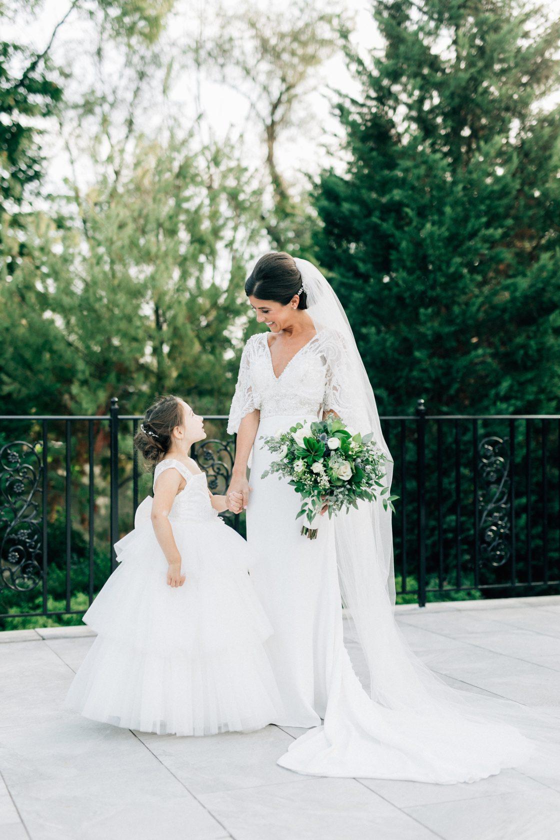 Elegant New Jersey Wedding with Greenery 63