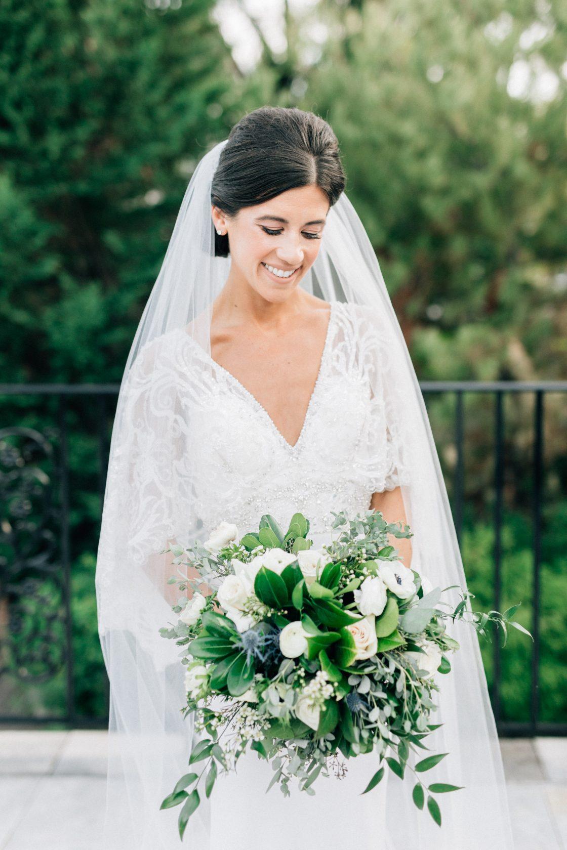 Elegant New Jersey Wedding with Greenery 64