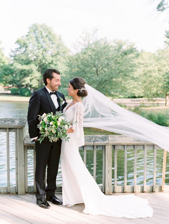 Elegant New Jersey Wedding with Greenery 75