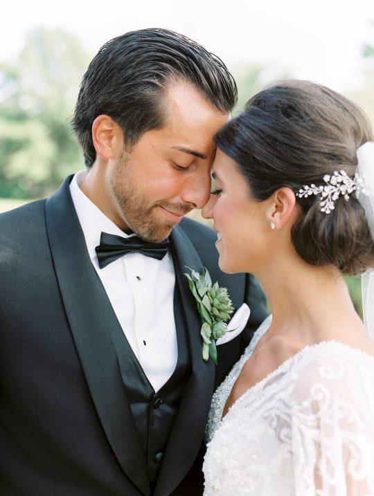Elegant New Jersey Wedding with Greenery 76