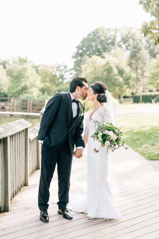 Elegant New Jersey Wedding with Greenery 79