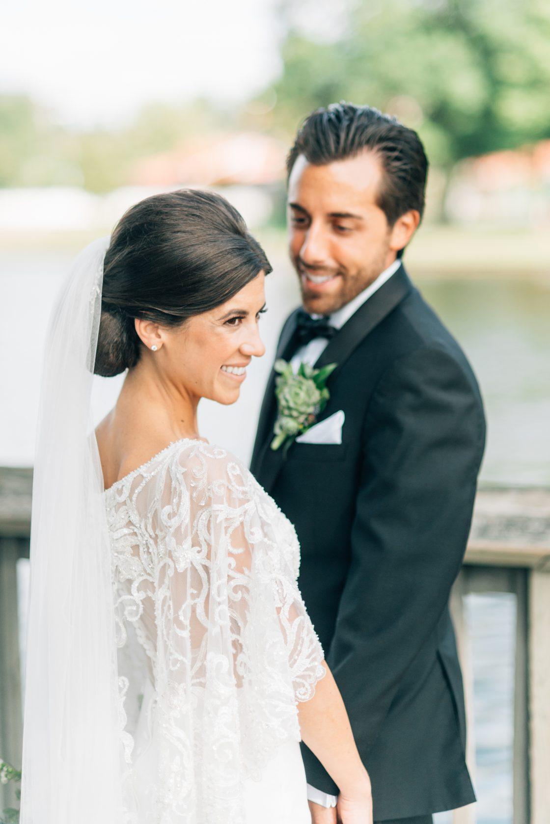 Elegant New Jersey Wedding with Greenery 82