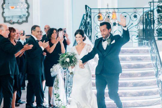 Elegant New Jersey Wedding with Greenery 87