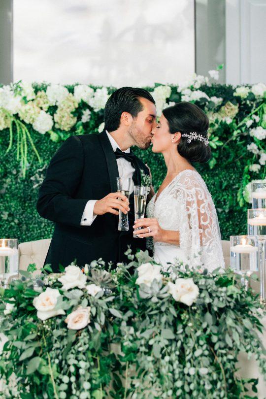 Elegant New Jersey Wedding with Greenery 94