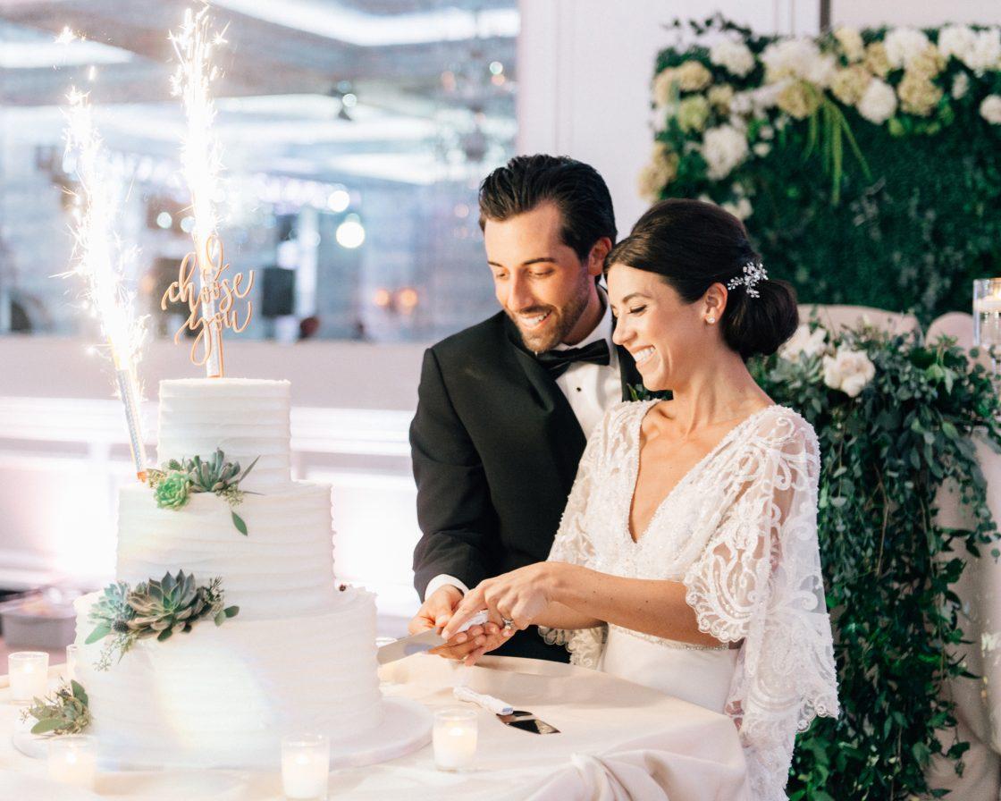 Elegant New Jersey Wedding with Greenery 98