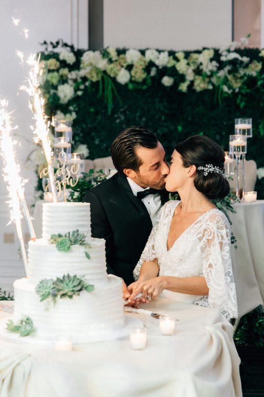 Elegant New Jersey Wedding with Greenery 99