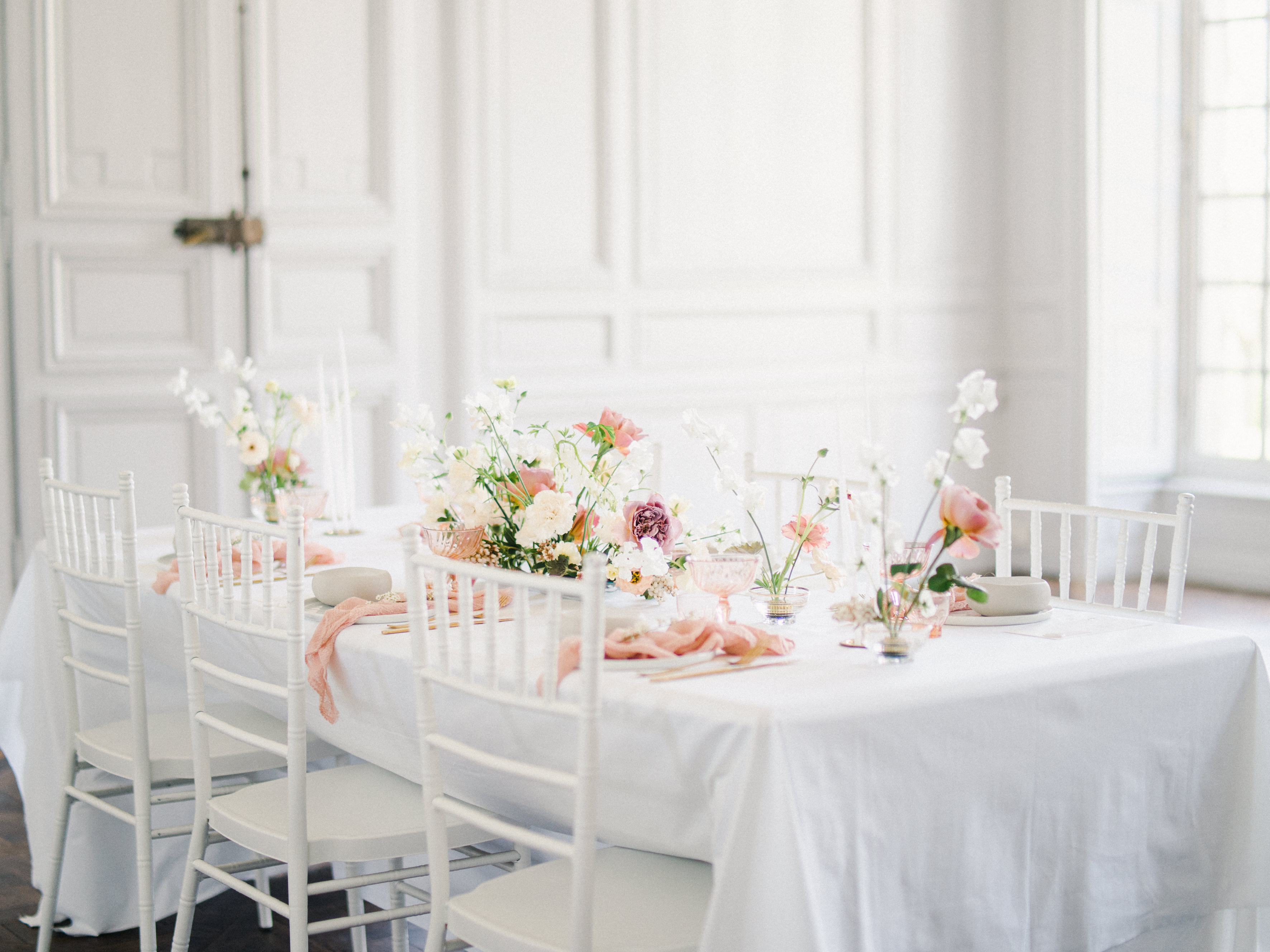 Elegant Whimsical French Chateau Wedding Inspiration Romain Vaucher 11