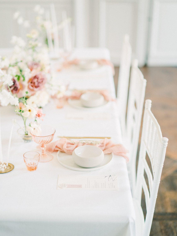 Elegant Whimsical French Chateau Wedding Inspiration Romain Vaucher 16