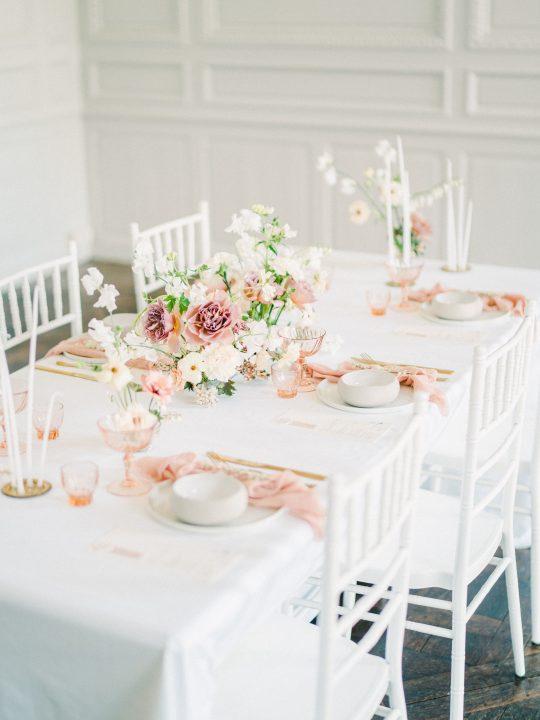 Elegant Whimsical French Chateau Wedding Inspiration Romain Vaucher 17
