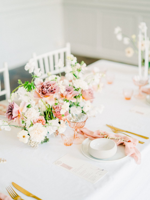 Elegant Whimsical French Chateau Wedding Inspiration Romain Vaucher 19
