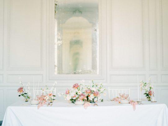 Elegant Whimsical French Chateau Wedding Inspiration Romain Vaucher 20