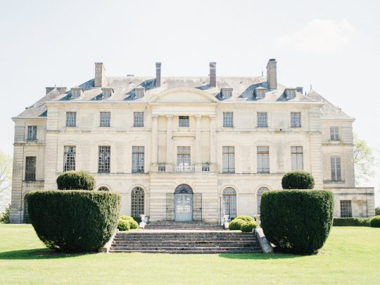Elegant Whimsical French Chateau Wedding Inspiration Romain Vaucher 21