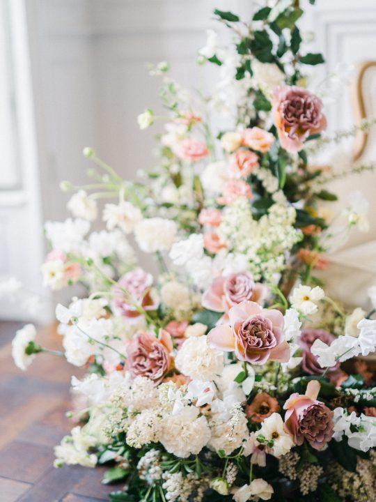 Elegant Whimsical French Chateau Wedding Inspiration Romain Vaucher 24