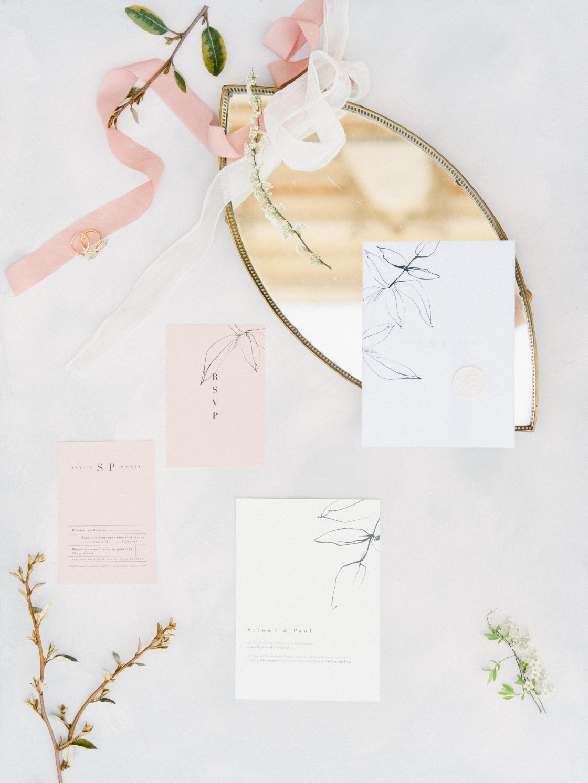 Elegant Whimsical French Chateau Wedding Inspiration Romain Vaucher 27