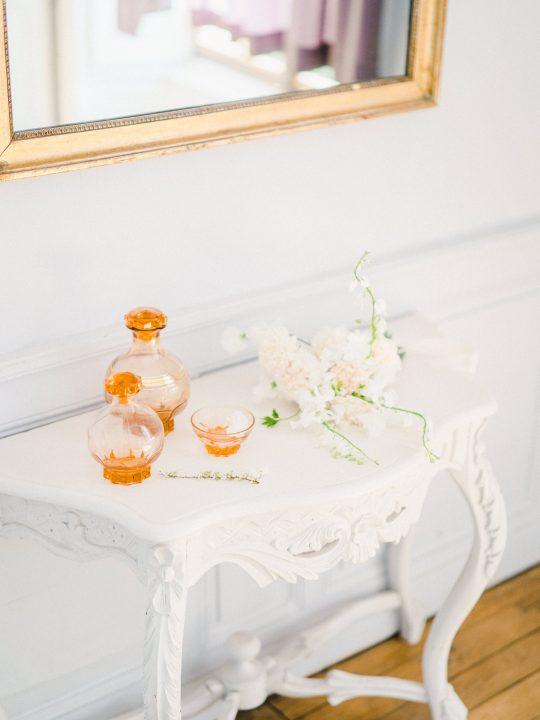 Elegant Whimsical French Chateau Wedding Inspiration Romain Vaucher 28