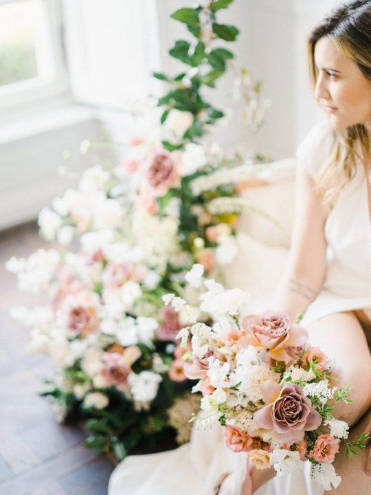 Elegant Whimsical French Chateau Wedding Inspiration Romain Vaucher 38
