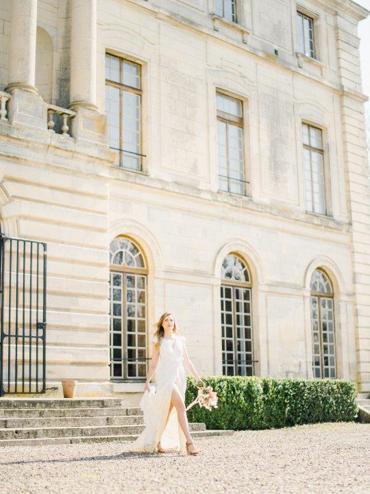 Elegant Whimsical French Chateau Wedding Inspiration Romain Vaucher 44