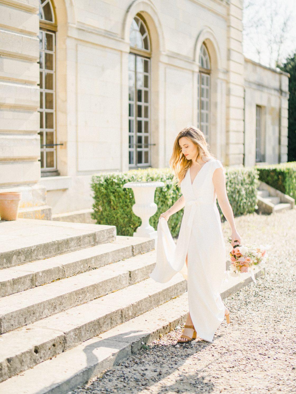 Elegant Whimsical French Chateau Wedding Inspiration Romain Vaucher 46