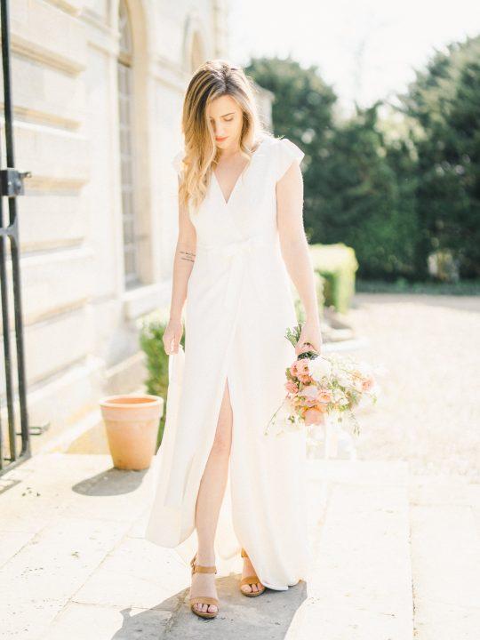 Elegant Whimsical French Chateau Wedding Inspiration Romain Vaucher 47