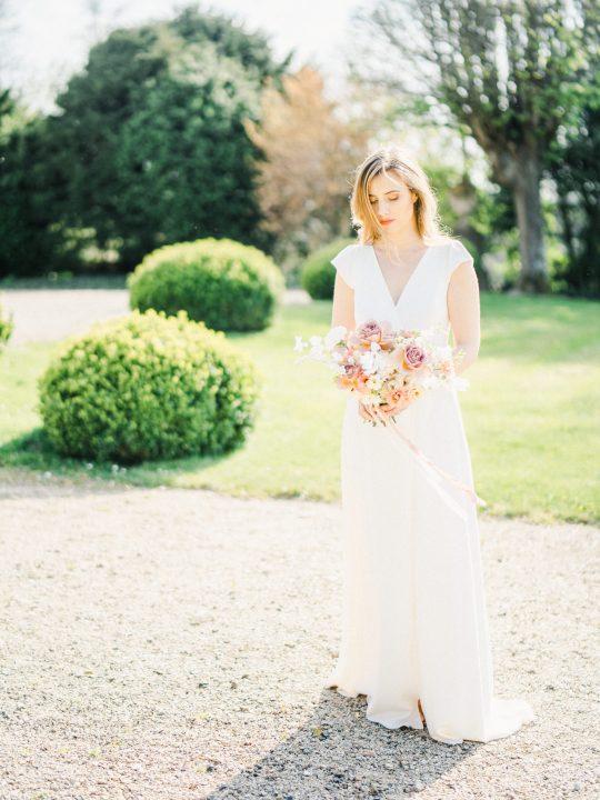 Elegant Whimsical French Chateau Wedding Inspiration Romain Vaucher 52