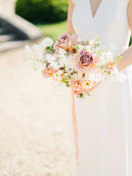 Elegant Whimsical French Chateau Wedding Inspiration Romain Vaucher 54