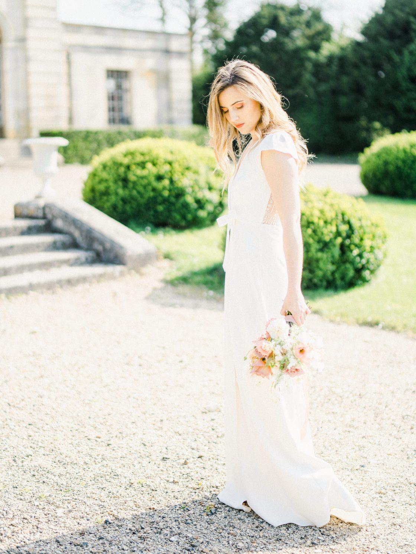 Elegant Whimsical French Chateau Wedding Inspiration Romain Vaucher 55