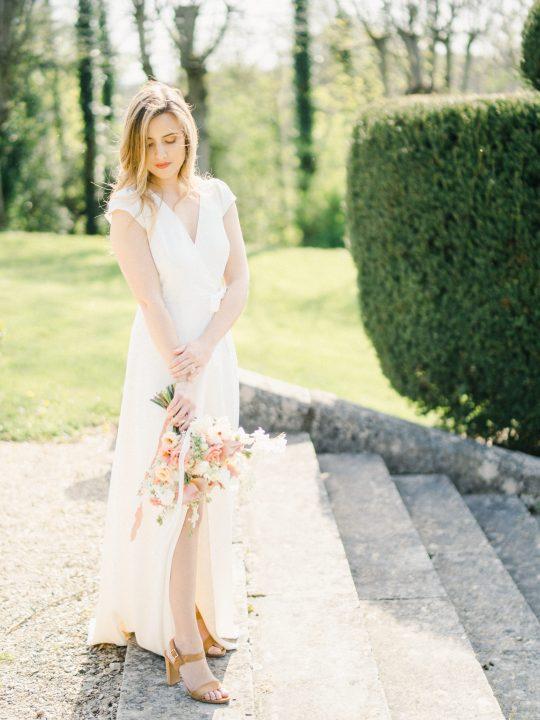 Elegant Whimsical French Chateau Wedding Inspiration Romain Vaucher 56