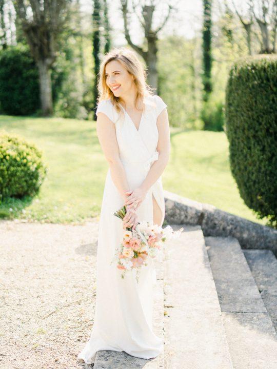 Elegant Whimsical French Chateau Wedding Inspiration Romain Vaucher 57