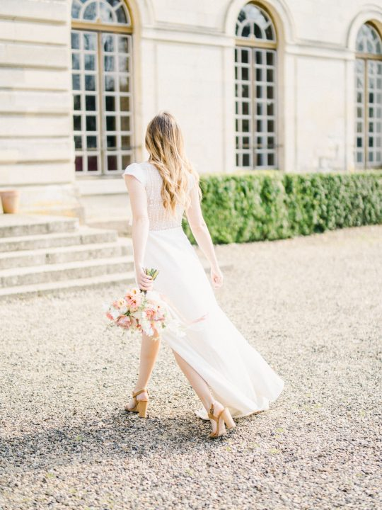 Elegant Whimsical French Chateau Wedding Inspiration Romain Vaucher 60