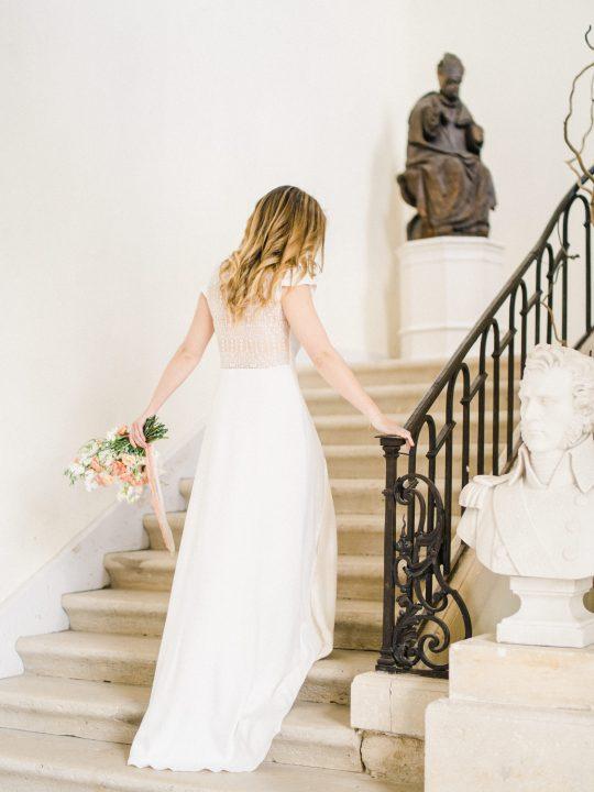 Elegant Whimsical French Chateau Wedding Inspiration Romain Vaucher 62
