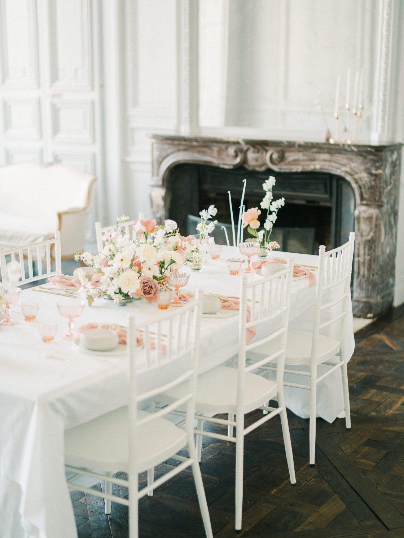 Elegant Whimsical French Chateau Wedding Inspiration Romain Vaucher 8