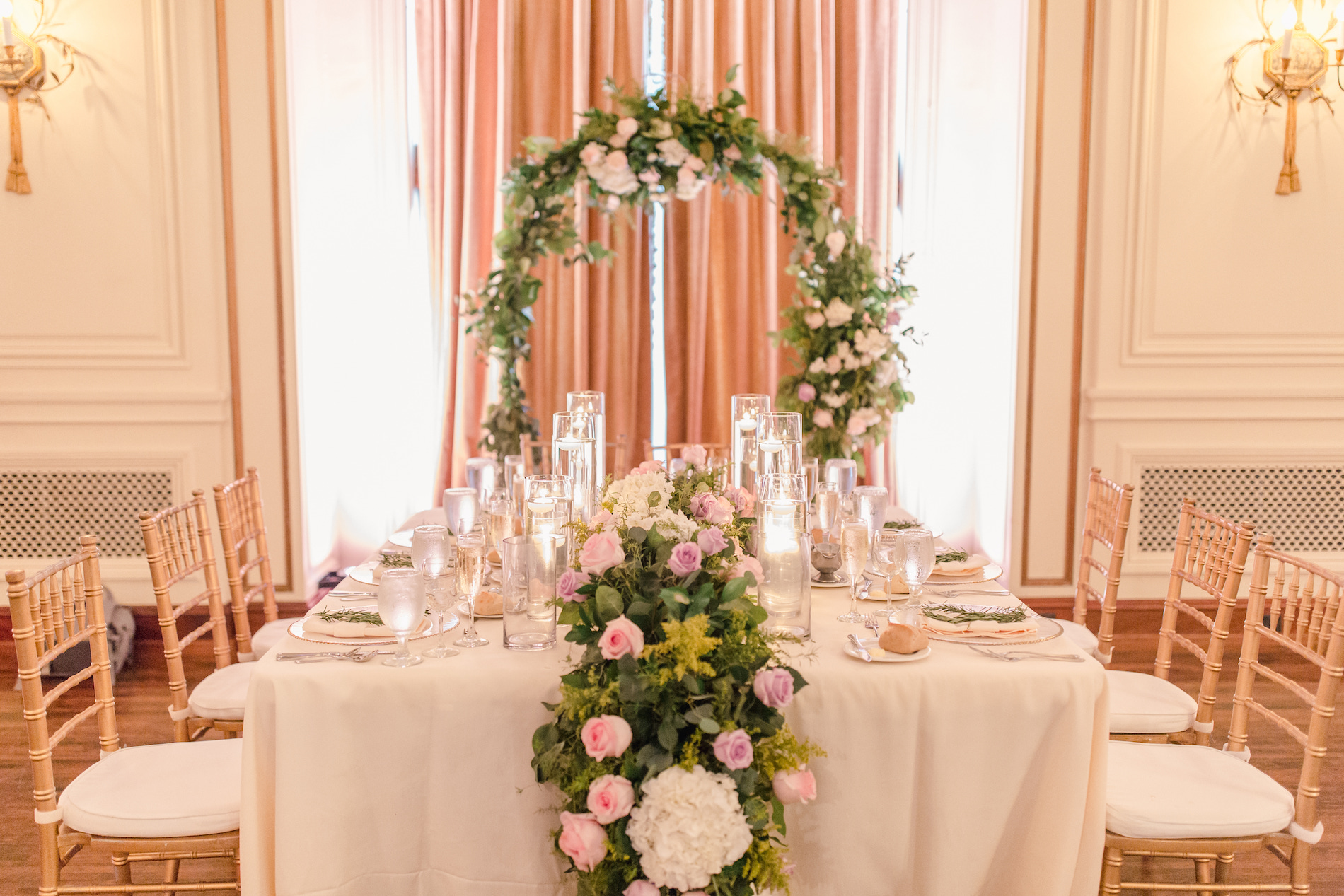 Charming Blush and Lavender Detroit Wedding Stephanie Kaslly Photography10