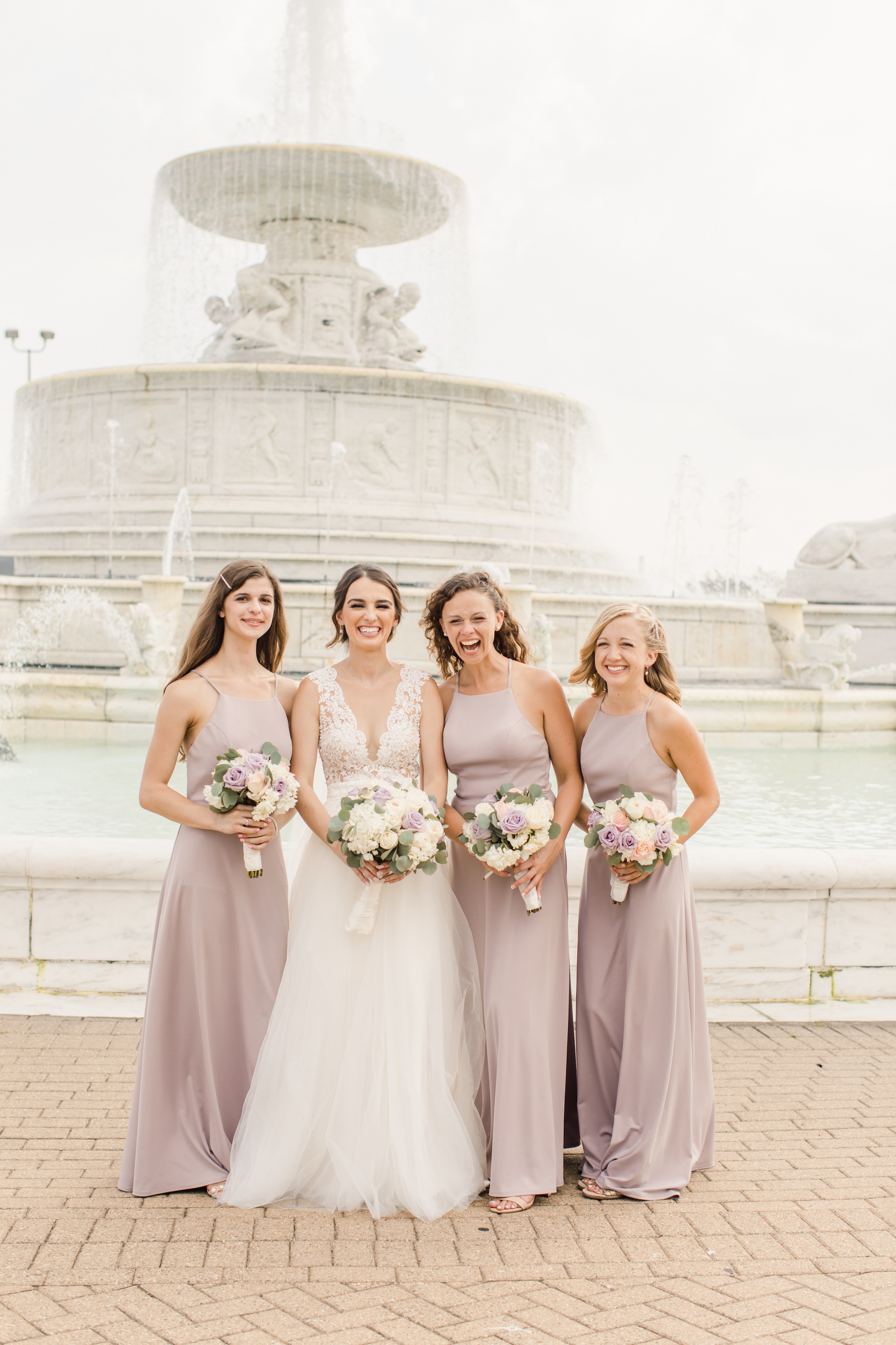 Charming Blush and Lavender Detroit Wedding Stephanie Kaslly Photography28