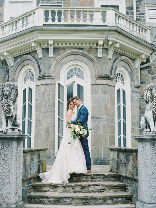 French Castle Wedding Portraits