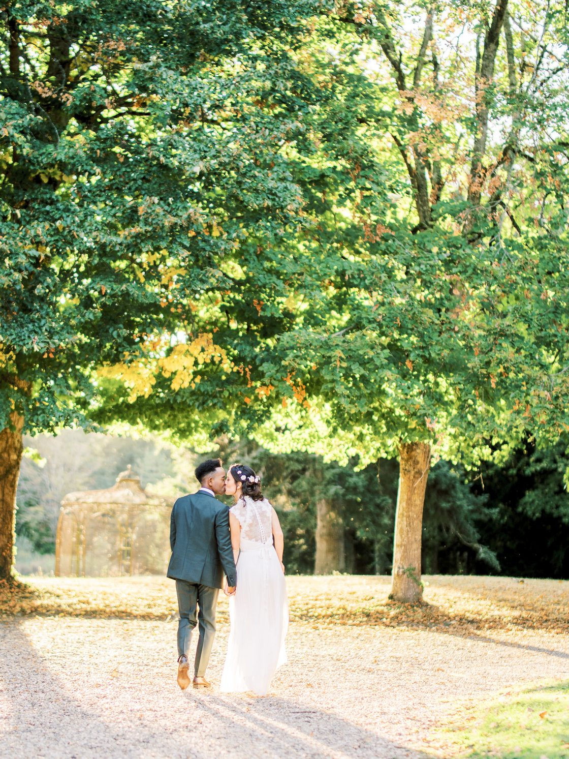 French Chateau Wedding Inspired by Nature Romain Vaucher25