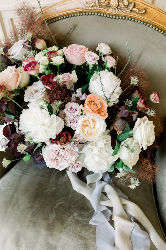 Intimate and Lush Elopement Inspiration in Normandy Alexi Lee Photography12