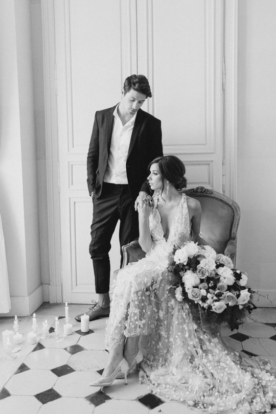 Intimate and Lush Elopement Inspiration in Normandy Alexi Lee Photography23
