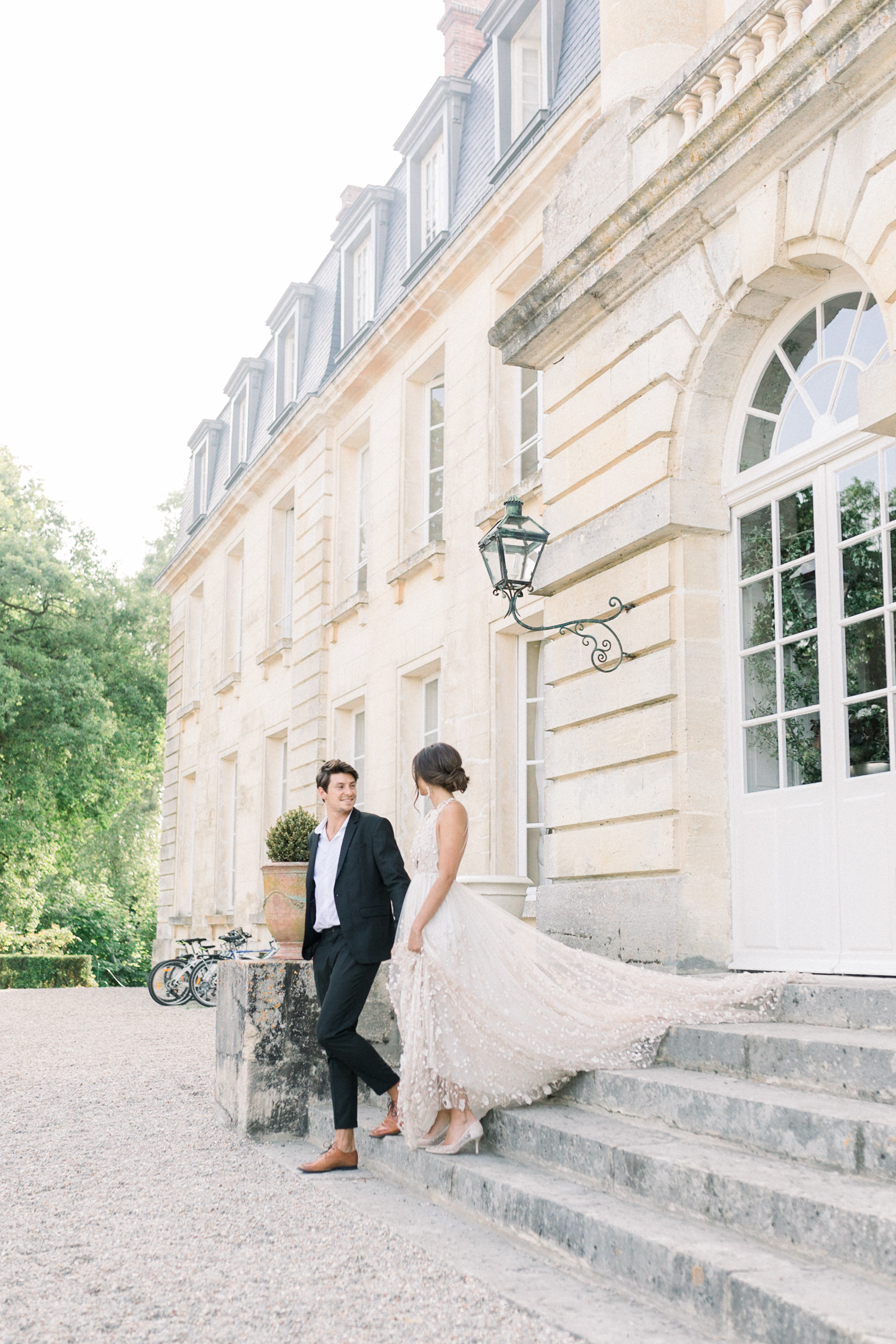 Intimate and Lush Elopement Inspiration in Normandy Alexi Lee Photography25