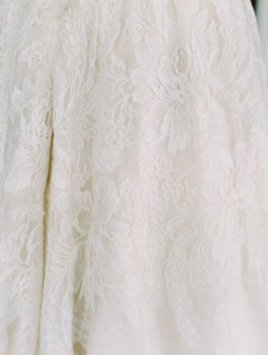 Lace Wedding Dress Details
