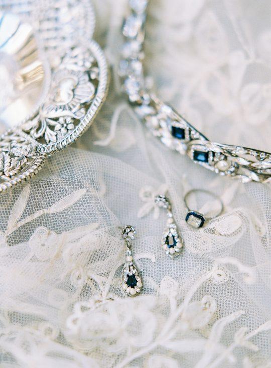 Sapphire Bridal Accessories