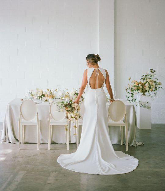 Sleek and Minimalist Wedding Inspiration Julia Simmons Photography19